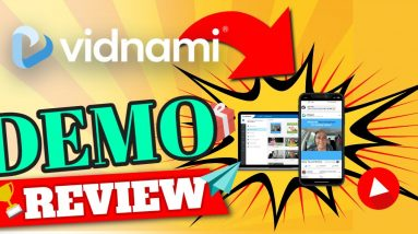 Vidnami demo review vidnami is the best media marketing tool