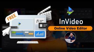 Best Online Video Editor 2021   InVideo Online Video Maker   4000+ Customisable Template