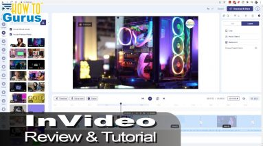 InVideo Review and Tutorial - How to Make a Video Using InVideo
