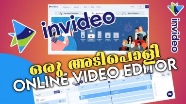 The best Online Video Editor || 5000+ Templates || Use Free || Invideo Malayalam